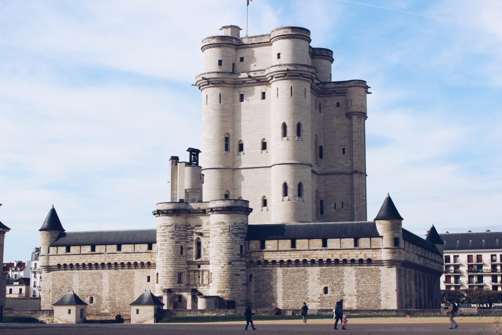 Chateau Vincennes bei Paris